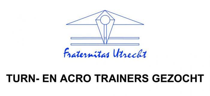 Turn- En Acro Trainers Gezocht